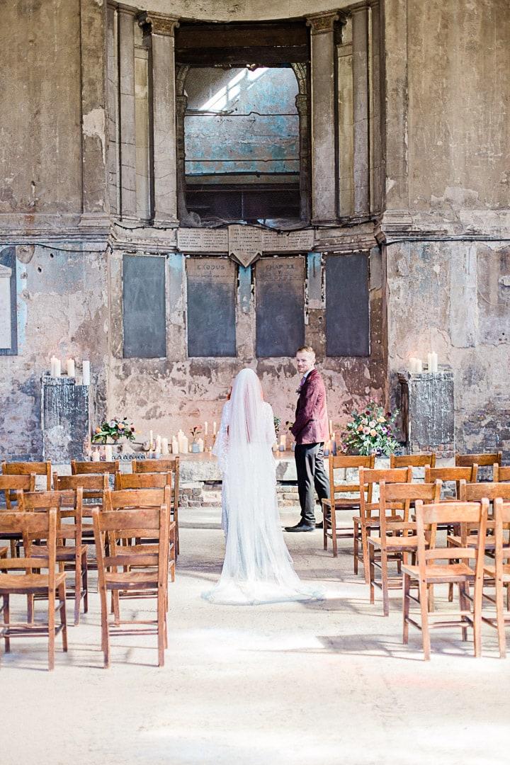 Fine Art Wedding Photography The Asylum London -50