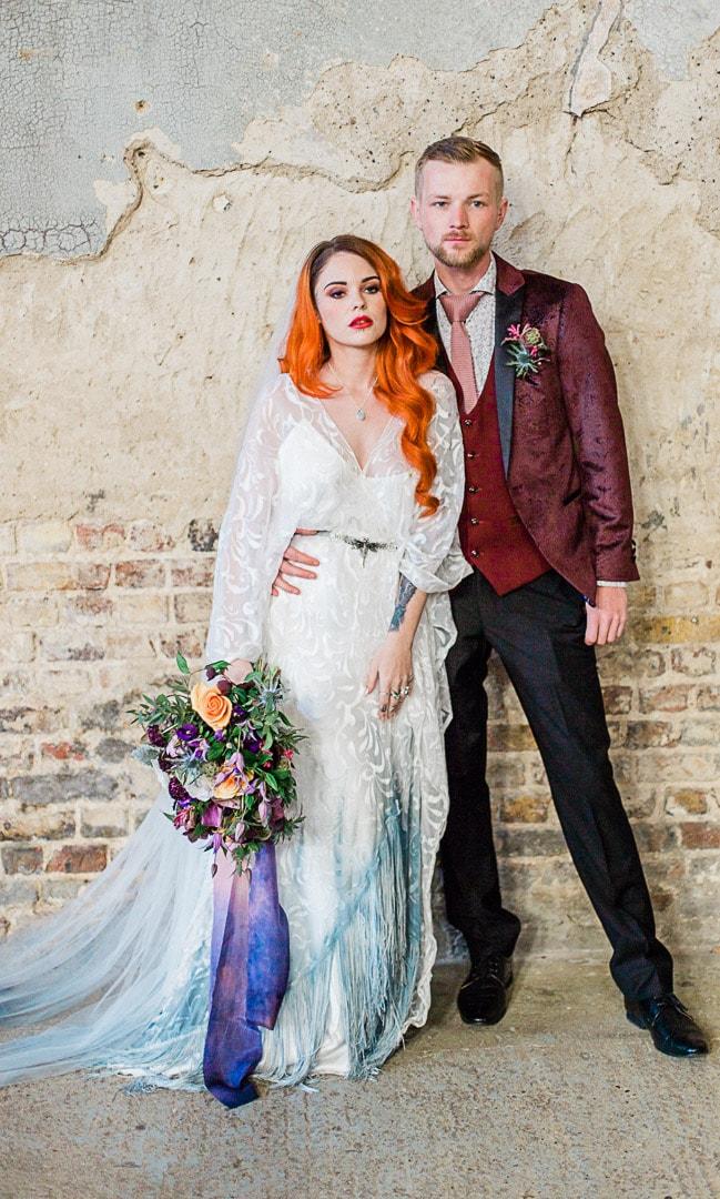 Fine Art Wedding Photography The Asylum London -62